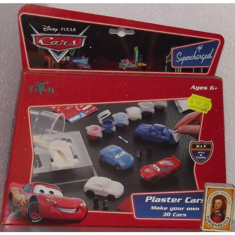Støb din egne bil fra filmen Cars