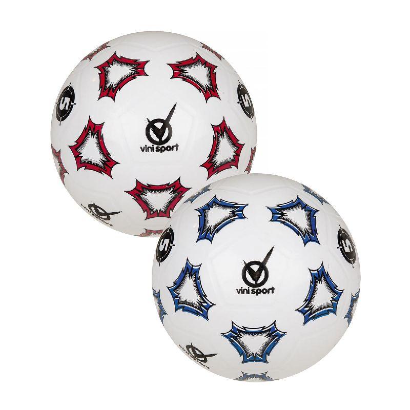 God fodbold i gummi lingende matriale, holder bedre og  vejre mere end de klasiske plastbolde.