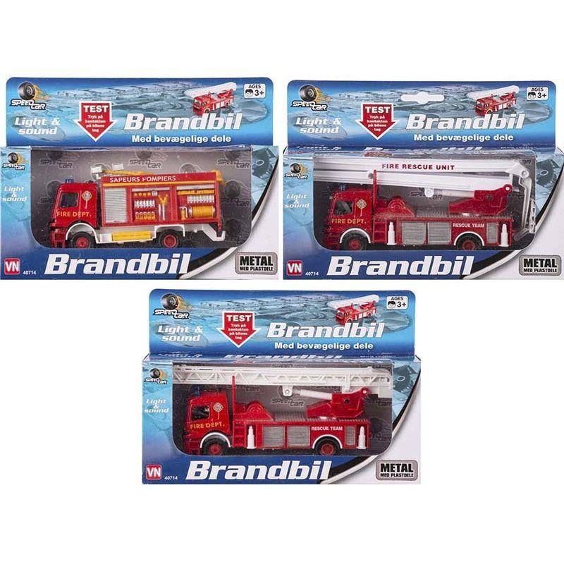 Har du ild skal du havde en brandbil til at hjælpe dig med at slukke den.