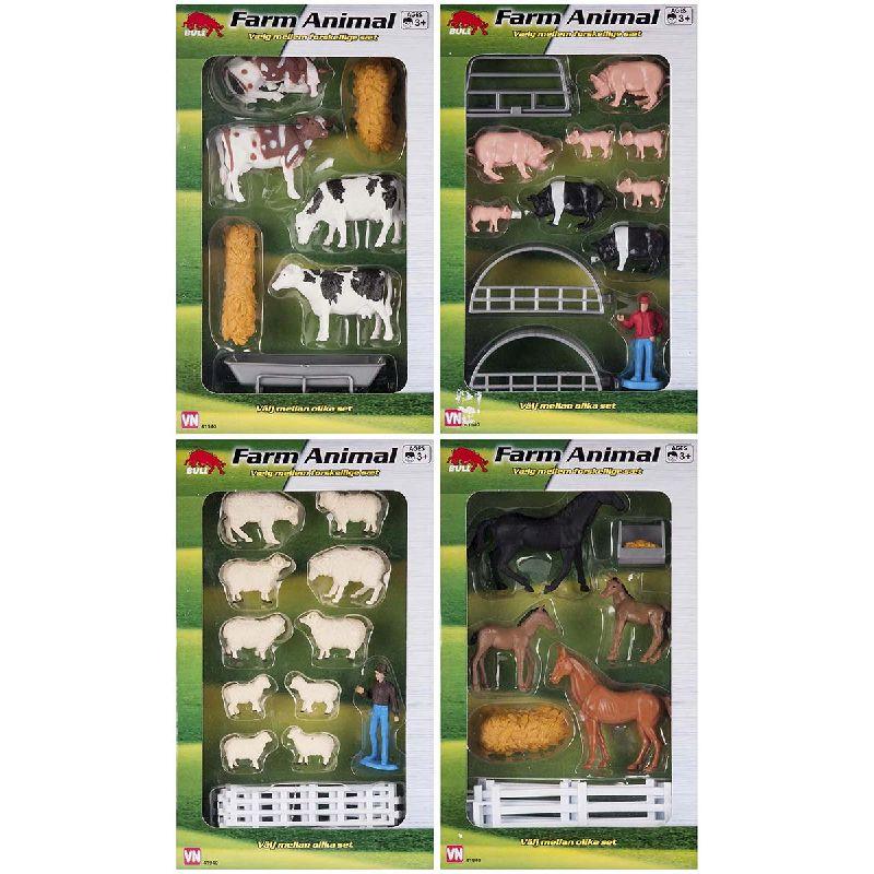 Til en bondegård høre der bondegårdsdyr til, så vælg hvad for nogle husdyr du vil havde på din gård.