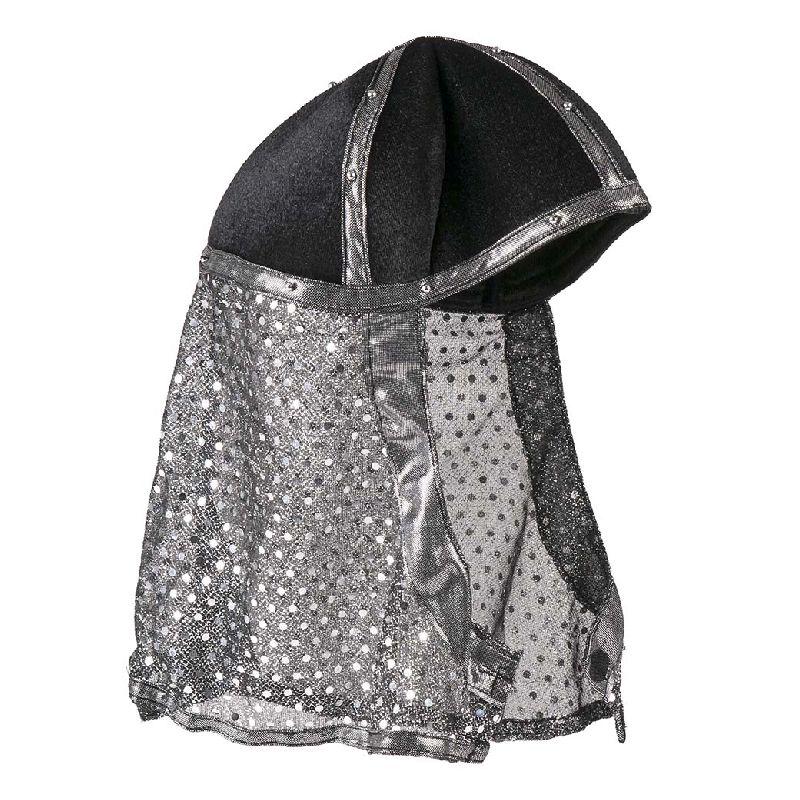 En rigtig naturtro Ninja hjelm h�rer til i jeres rollespil og udkl�dningslege. Passer de fleste.