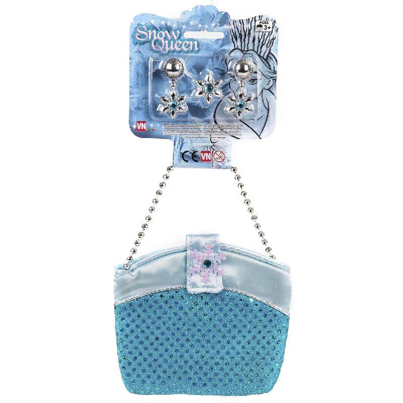 En rigtig fin taske i snedronningens farver, kan ogs� bruges hvis du bare er en fin dame eller en alm. prinsesse.