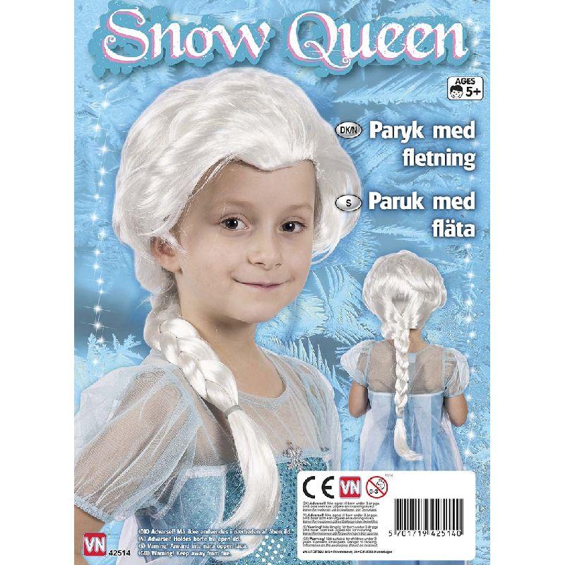 Hvis paryk der kan bruges til leg som Frozen/Frost