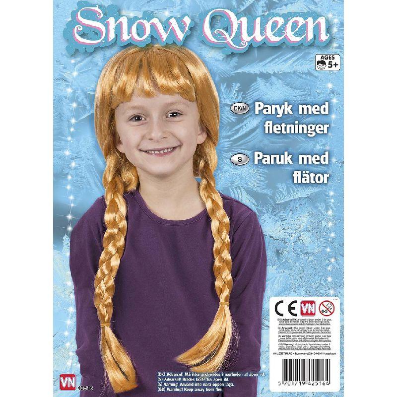 Paryk der kan bruges til leg som Frozen/Frost