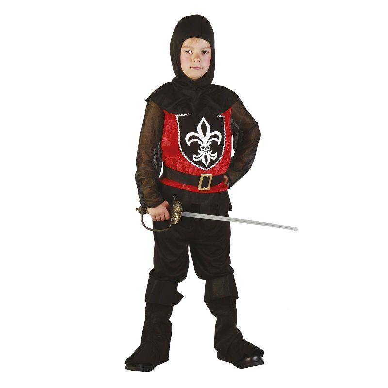 En super sej ridder, altid klar til kamp.<br> Go dragt b�de til fastelavn eller til leg.