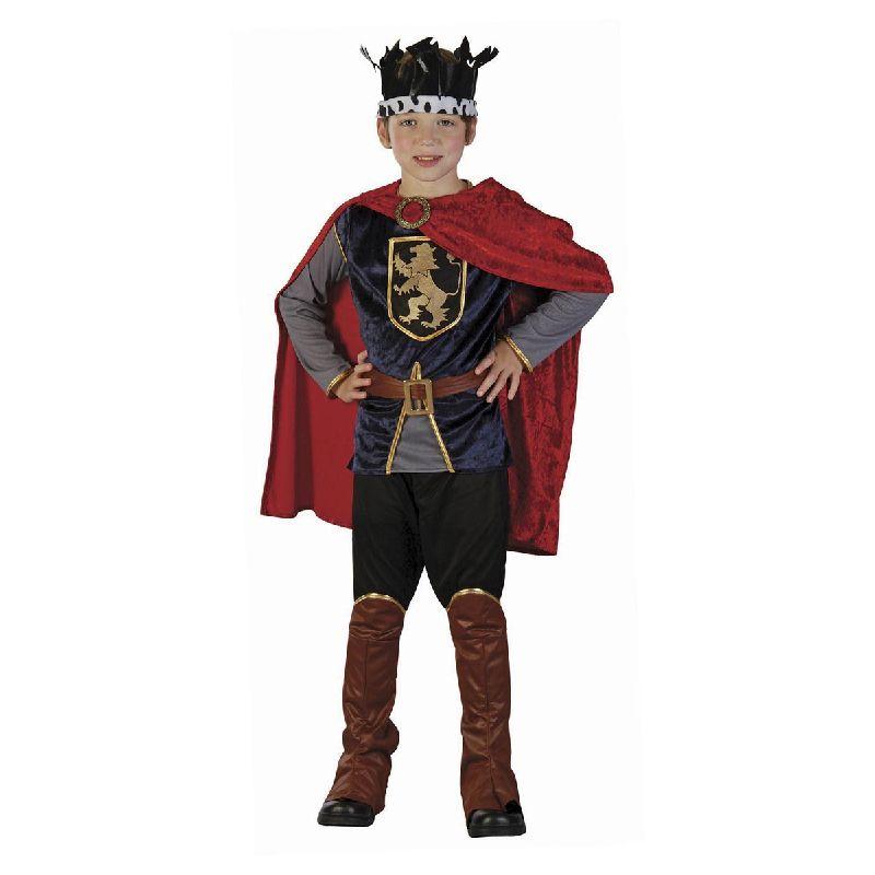 Den kongelige rider.<br> N�r kongen skulle ud p� ridder togter var det s�dan han s� ud.