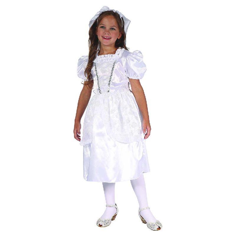 Bliv kl�dt ud som dem yndiges brudepige med denne dragt.<br> S� om du skal spille skuespil, lege eller til fastelavn er dette dragten.