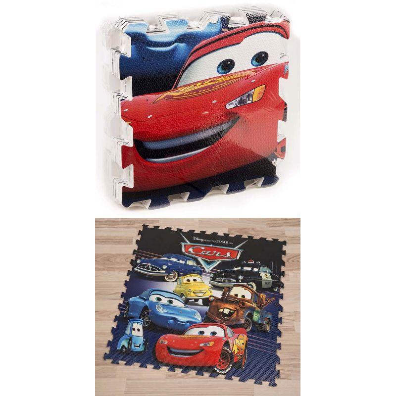 Samle det flotte motiv fra Disney filmen Cars og se alle de kendte figure