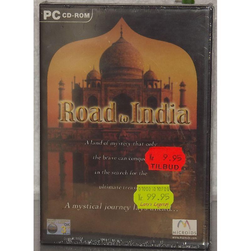 PC spil road to India. Spil til computeren. Spil med vennerne.  Nå igennem forhindringerne inden tiden udløber.