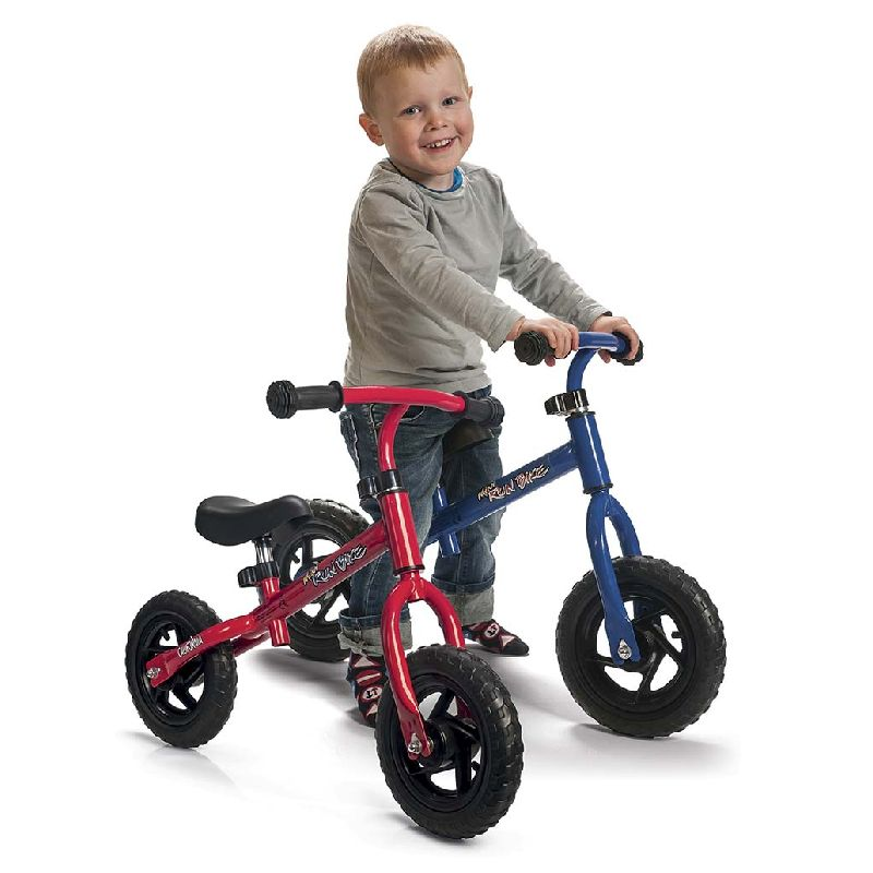 En god start inden den 2 hjulet cykel hvor man kan l�re at holde balancen, det er derfor den ogs� kaldes en balancecykel.