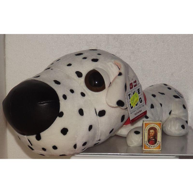 Hund fra den søde serie The DOG hvor de har store hovder