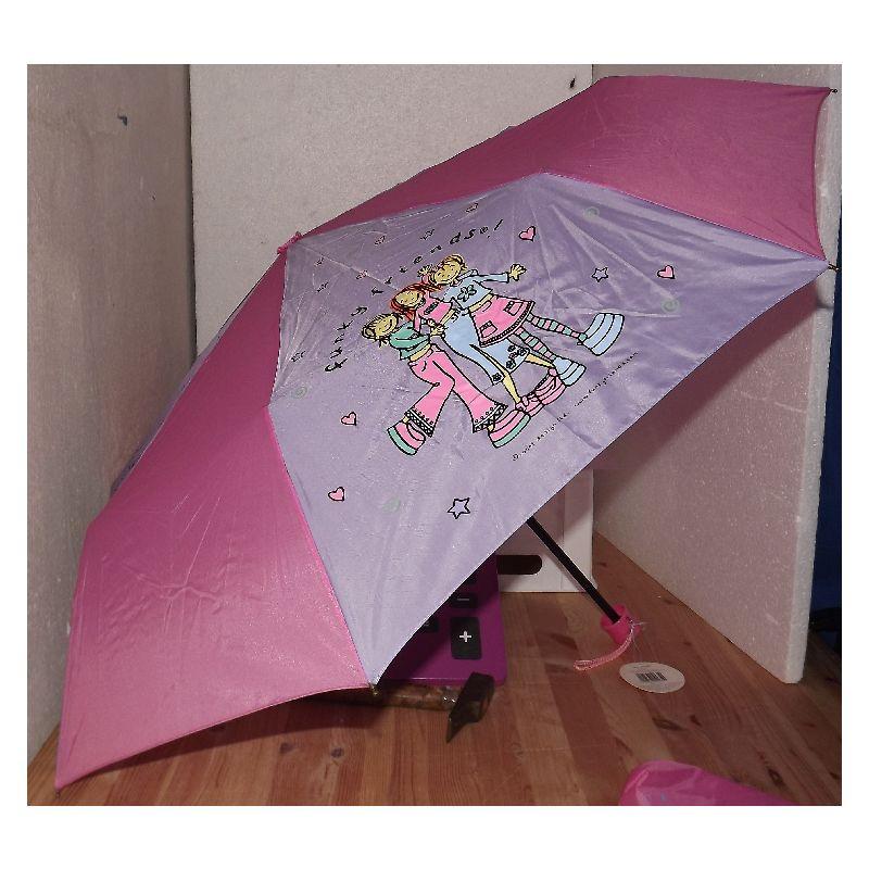 Taske paraply med motiv. Til børn