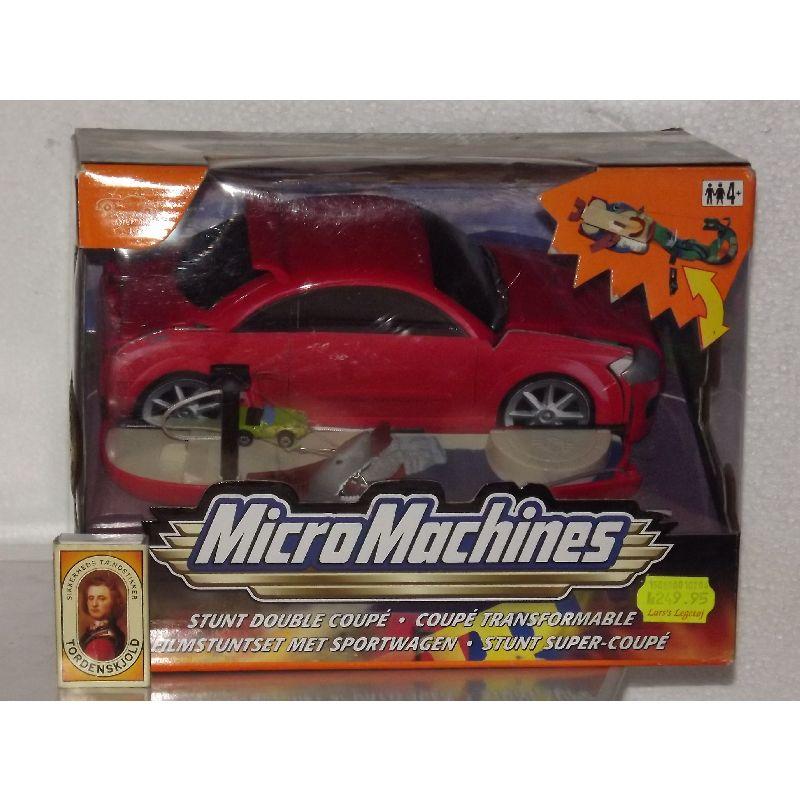 Slå din bil ud og få en crosbane til dinne MicroMachines
