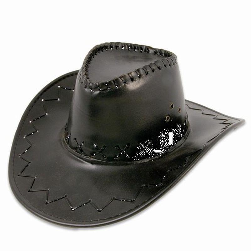 En super god cowboy hat hvis du skal kl�des ud som cowboy  eller skal til western fest