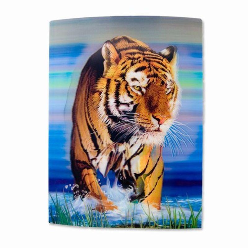 3D plakat med Tiger