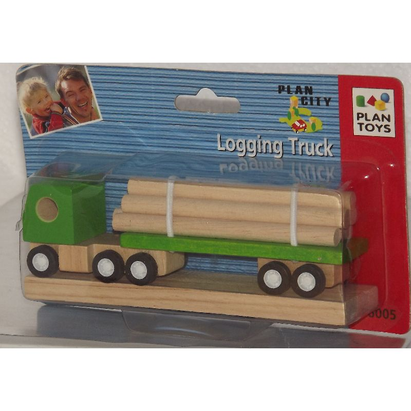 Lastbil med rør. Passer til de fleste træ togbaner