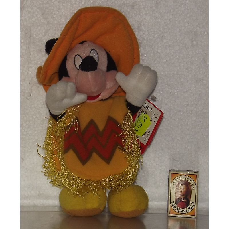 Nok Disneys mest kendte figur Mickey Mouse.