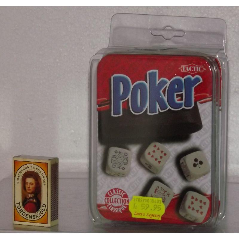 Nu kan du få poker i flot æske du kan have med overalt både  derhjemme og på rejse. Spilleregler er på forskellig sprog og  de er også på dansk.
