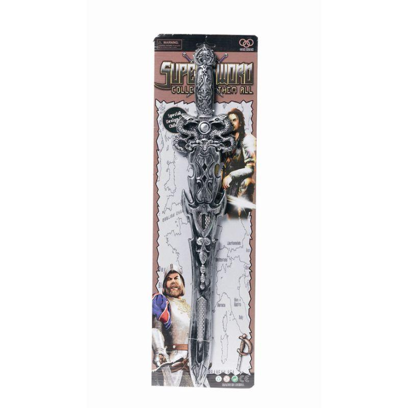 Et flot sv�r i h�rd plastik med flotte detaljer, passer  perfekt hvis man skal lege ridder eller m�ske en fra Ringens  Herrer