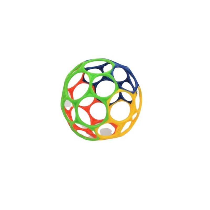 En skøn lille gribe bold til de mindste som vil elske at studere de smukke klare farver som de kan bruge en masse tid til at lege med