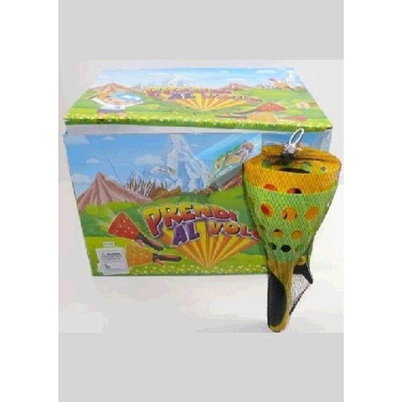 Grib bolden i kegle ketcher. Udendørsleg til stranden  eller i haven på græsset. Nem at tage med på udflugt  eller camping. 3 stk bolde medfølger