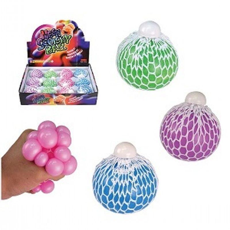 Pr�v klemmebolden f�s i 4 forskellige farver Kan bruges til at stresse af p� eller bare leg