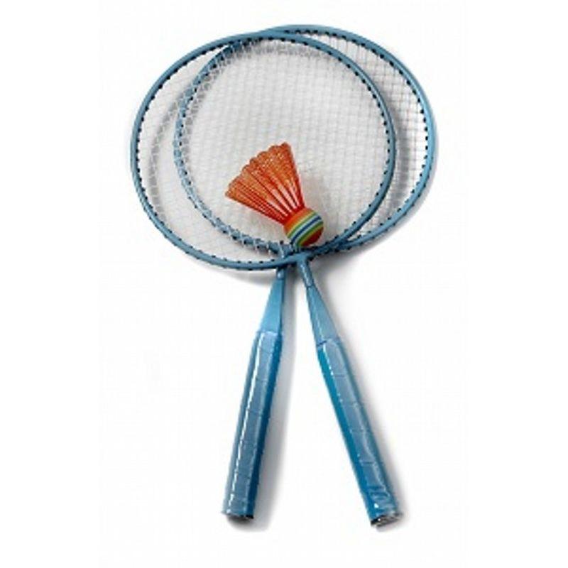 badminton sæt kan bruges til mange timers aktiv og sjov leg  mellem søskende eller venner perfekt til sommerens ture og ferier to-go