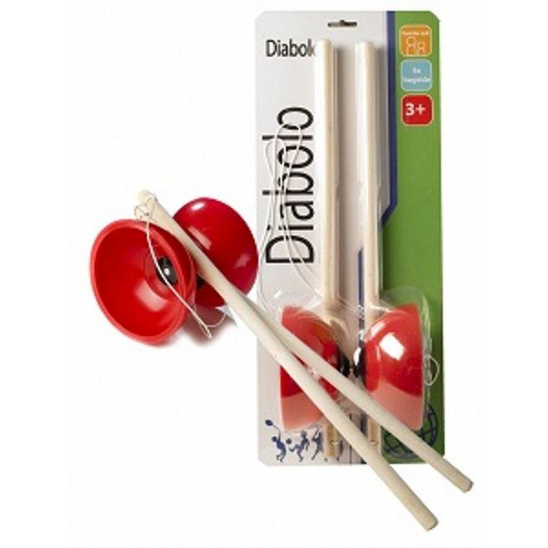 Diaboloen bruges både inde og ude, men bruger man den inde for  skal man være god til af bruge den og der skal være nok plads  til at lege med den. Man har bl.a. set den i brug til gymastik  opvisninger og i Danmark har talent