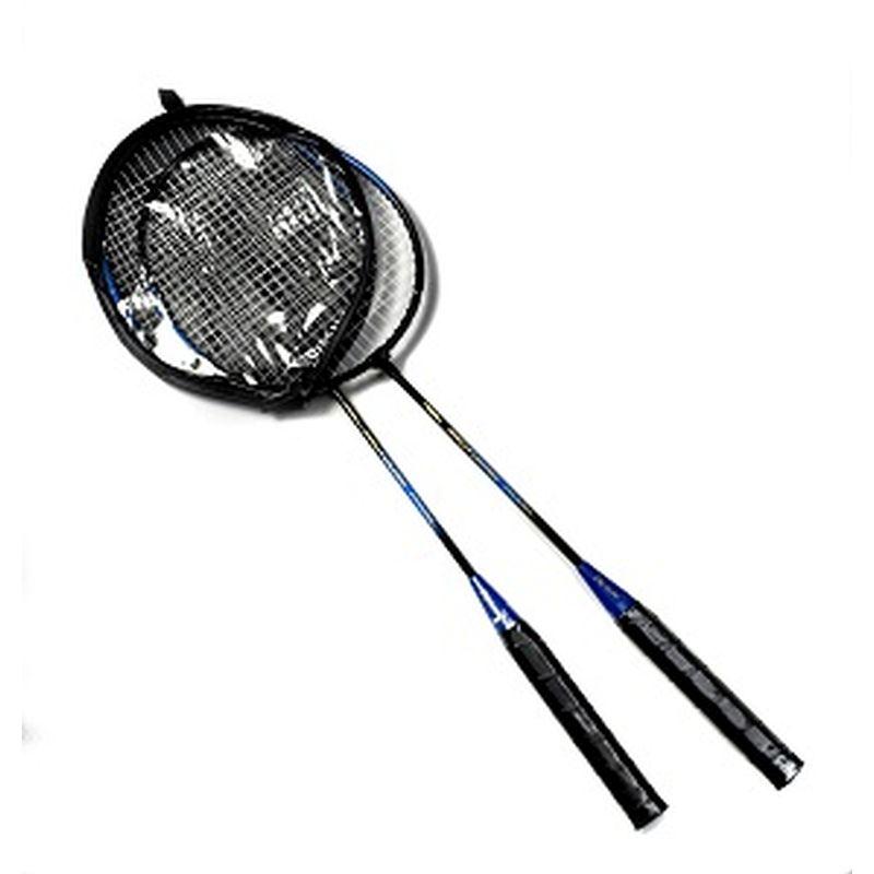 Badminton ketcher 2 stk i sæt. Kan bruges til  udendørsleg. Kan spille i haven, ved stranden og på  camping.