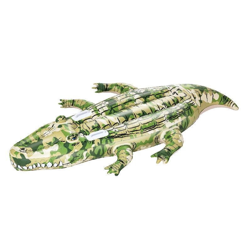 Tag denne krokodille med i poolen og du har noget sjovt at lege med og noget at gøre de andre bange med.