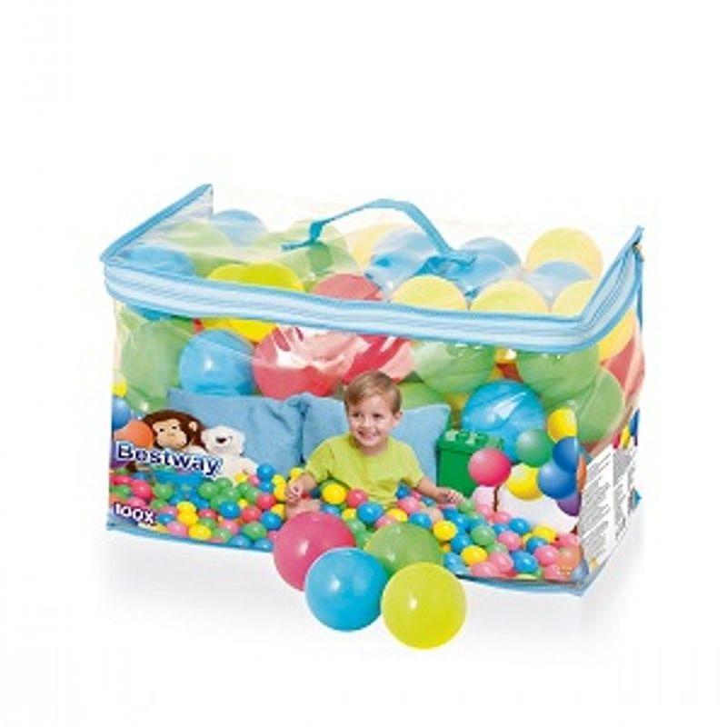 Plastbolde til leg, brug dem f.eks. i legetelt og pool, man  kan også bruge dem på trampolinen