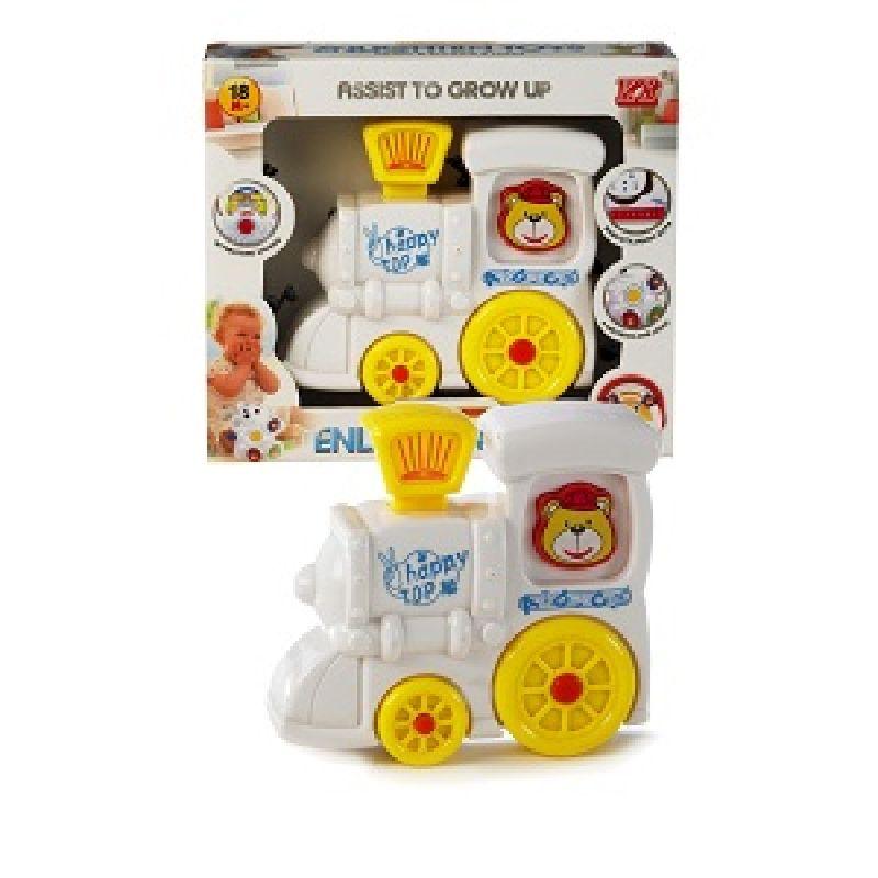 Baby legetøj med lys og lyd. Tryk på knapperne. Hør  lydene og se lyset blinke.