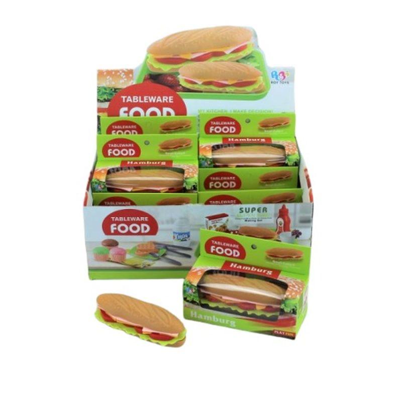 En velsmagende stk sandwich når man skal på skovtur eller  sidde i haven