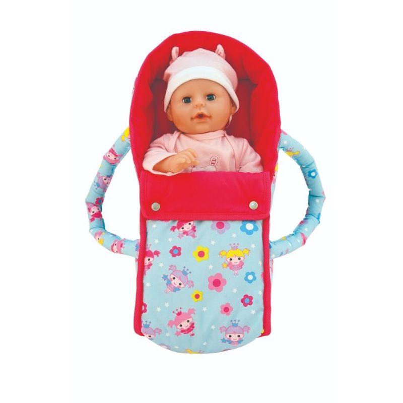 Skal du have din dukke med på tur er denne taske perfekt.