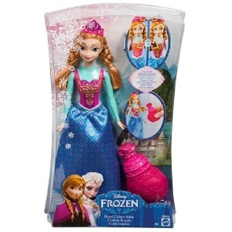 Disney filmen Frost/Frozen har være en af de mest  populære i nyer tid.<br> Anna er den ene af hovedpersoner, den anden er hendes  søster Elsa.<br> Filmen er løst bygget på H.C.Andersens eventyr  Snedronningen.