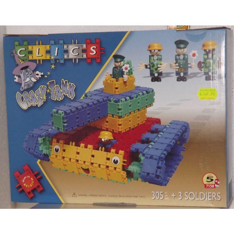 Byg en tanks eller byg fra fantacien, med clics kan man bygge lige hvad man vil