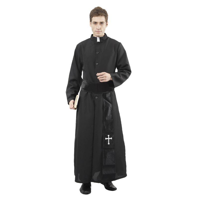 Kl�d dig ud som katolsk pr�st med denne dragt, kom til den n�ste fest og du skal nok v�kke opm�rksomhed.