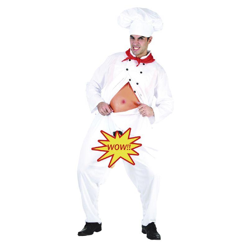 En sjov dragt hvor man som kok nok skal v�kke opm�rksomhed n�r man kommer udkl�dt.