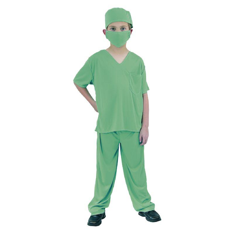 Vil man gerne v�re l�ge kan man her kl�de sig ud som kirurg/l�ge man denne dragt. En go udkl�dning til fastelavn.