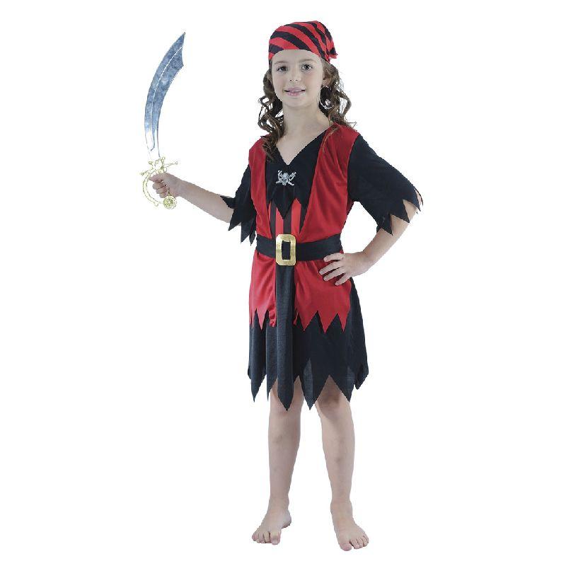 Dragt - Pirat pige - Barn