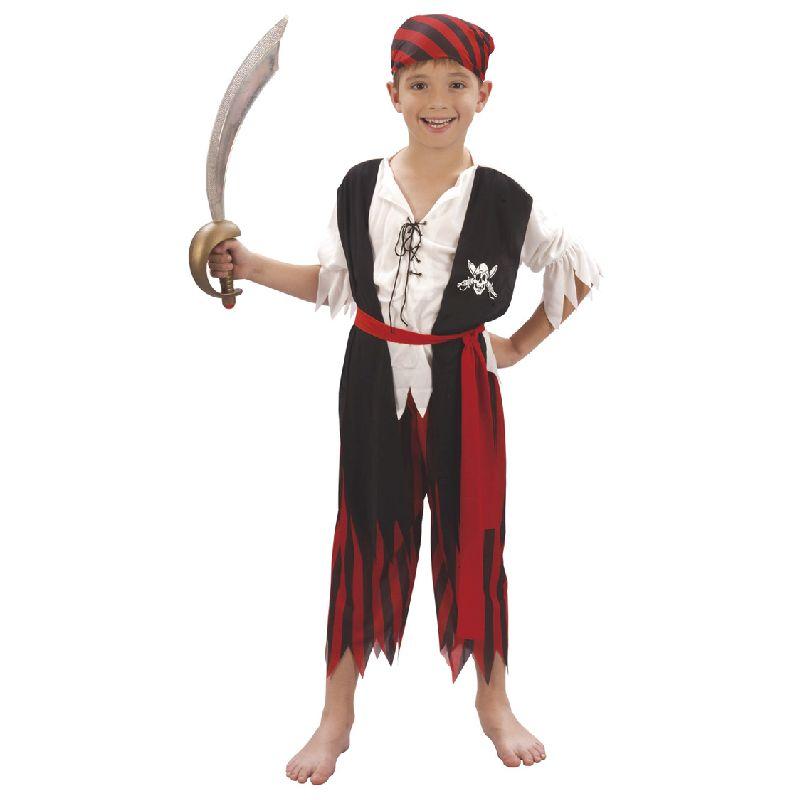 Dragt - Pirat dreng - Barn