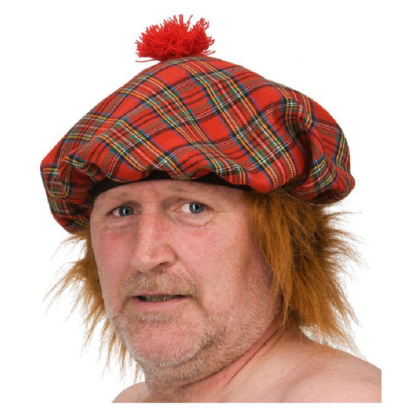 En sejr ternet hat med r�d dusk. Det perfekte valg hvis man skal v�re skotte.