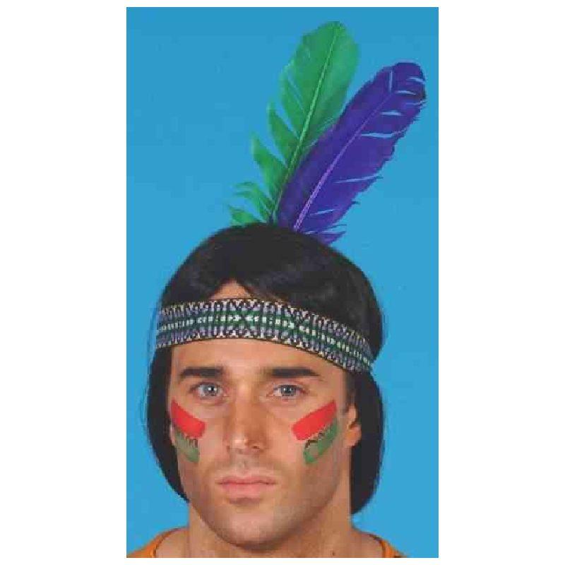 Skal du lege indiander eller kl�des ud som indiander til fest  eller lindende.