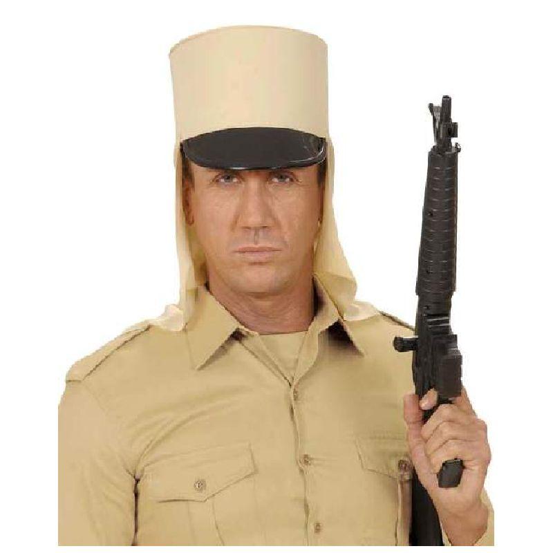 Skal du til tema fest og vil komme som en fra fremmedlegionen s� er denne hat et must. Hatte er beregnet til voksen men b�rn kan ogs� bruge den.