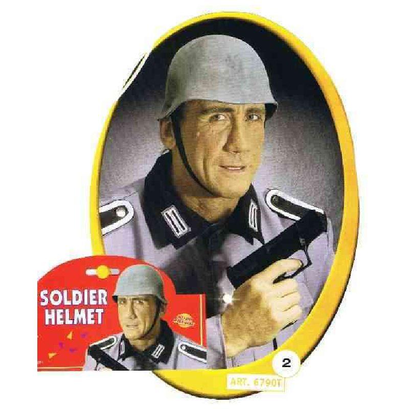 Ligne den hjelm der blev brugt under verdenskrigen, Er lavet til voksen men kan ogs� bruget af b�rn