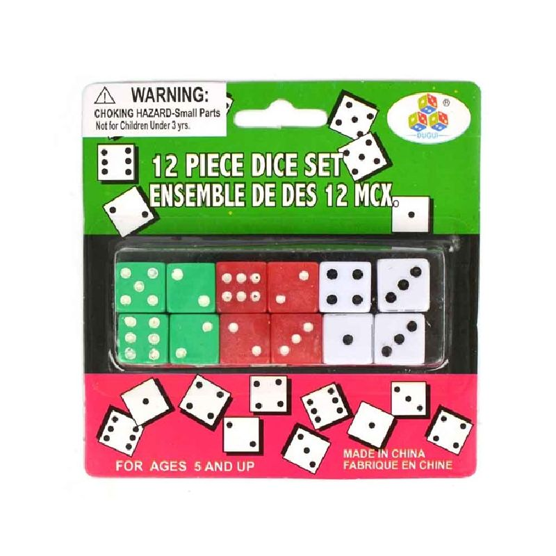 Terning kan bruges til mange forskelige spil som Yatzy eller pakkespil.