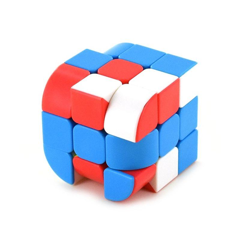 En super sjov udgave af den klassiske professorterning, har 3  hj�rner/kanter der er afrundet og 3 farver