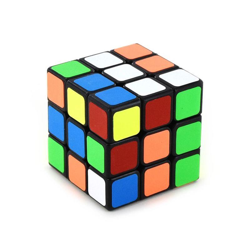 Den klassiske profserser terning, hvor det g�lder om at f�  siderne i de rigtige farver