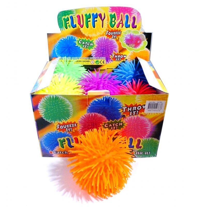 Bold i bl�d gummi. Bold med lange arme. Kast med den til  vennerne. Grib den igen. Kan bruges til leg i haven. Mange  forskellige farver.