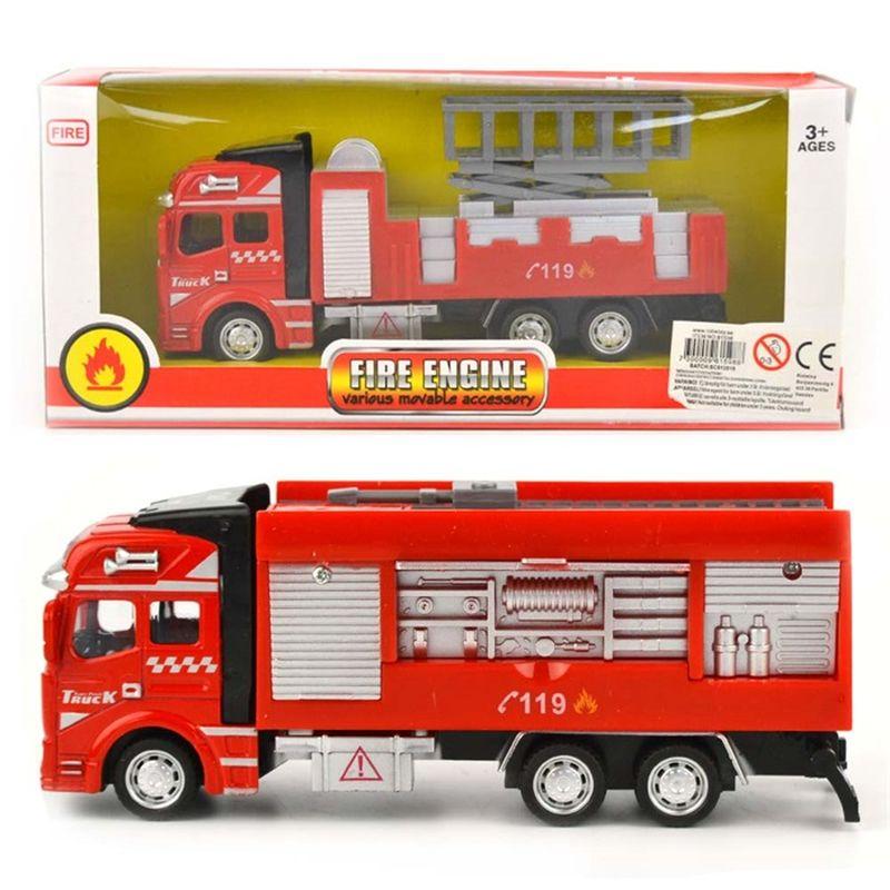 Fire Engine bil er et legetøj du kan have med overalt, hvor du  kan lege. Der er flere fine model, at finde.Et fine stykke  legtøj til billige penge.